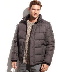 Calvin Klein Solid Performance Puffer Jacket - Lyst