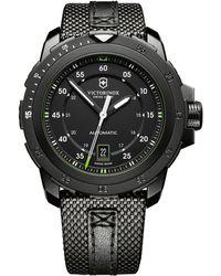 Victorinox Alpnach Mechanical Stainless Steel Watch - Lyst