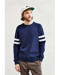 BDG - Athletic Stripe Sweatshirt - Lyst