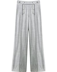 Rebecca Taylor | Flannel Sailor Pant | Lyst