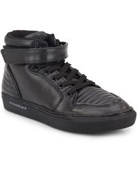 ELEVEN PARIS - Leather High-top Sneakers - Lyst