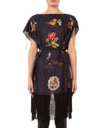 Isabel Marant Iromi Embroidered Tunic Top - Lyst