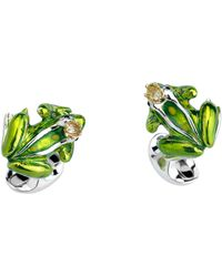 Deakin & Francis Crowned Frog Cuff Links - Lyst