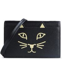 Charlotte Olympia | Small Leather Bag | Lyst