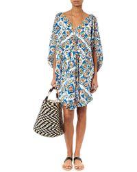 Easton Pearson Take Away - Diamond Cotton Tunic Dress - Lyst