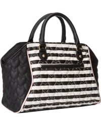 Betsey Johnson Be My Bow Large Satchel - Lyst
