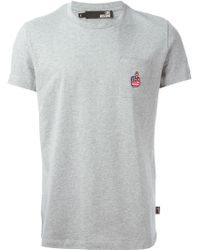 Love Moschino Patch Pocket T-shirt - Lyst