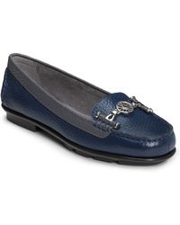 Aerosoles Nuwlywed Leather Loafers with Metallic Trim - Lyst