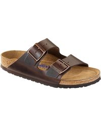 Birkenstock Arizona Amalfi Leather Sandals - Lyst