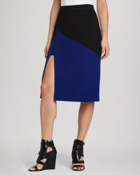 BCBGMAXAZRIA Bcbg Max Azria Pencil Skirt Jowell Color Block - Lyst