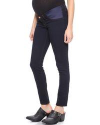 J Brand Maternity Skinny Jeans  - Lyst