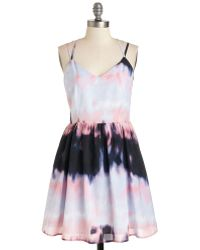 Jack Bb Dakota Turn Of The Tie Dye Dress - Lyst