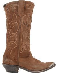 Golden Goose Deluxe Brand Flying Cowboy Boots - Lyst