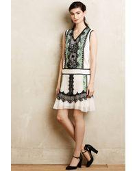 Anna Sui Daisy Lane A-Line Dress - Lyst