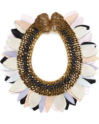 Lizzie Fortunato Jewels Monets Garden Necklace - Lyst