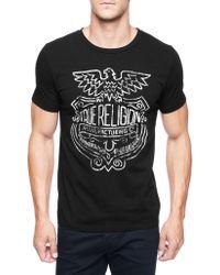 True Religion Shield Mens T-shirt - Lyst