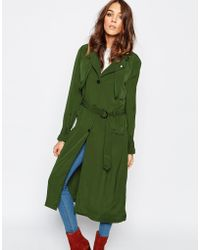 First & I - Trench Coat - Lyst