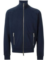 DSquared2 Zipped Up Cardigan - Lyst