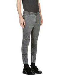 3.1 Phillip Lim - Grey Stonewash Slim Jeans - Lyst