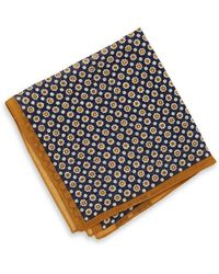 Hugo Boss Pocket Square  Wool Diamond Print - Lyst