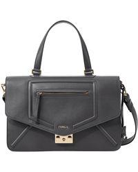 Furla Alice Leather M Shoulder Bag - Lyst