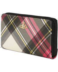Vivienne Westwood Derby Collection Zip Around Wallet - Lyst