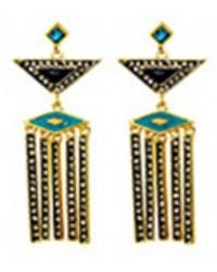 House Of Harlow Aegean Treasure Earrings - Lyst