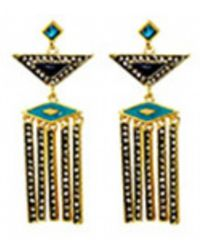 House Of Harlow 1960 Aegean Treasure Earrings gold - Lyst
