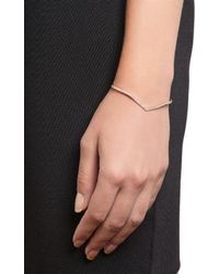 Eva Fehren Champagne Diamond  Rose Gold The Sergeant Cuff - Lyst