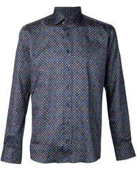 Etro Geometric Print Shirt - Lyst