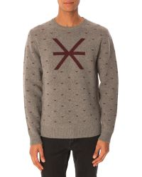 Marc By Marc Jacobs Grey Sweater - Lyst