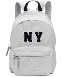 Joshua Sanders - Ny Grey Jersey Backpack - Lyst
