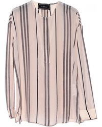 By Malene Birger Florie Stripe Blouse - Lyst