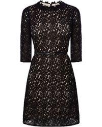 Oasis Lace Shift Dress - Lyst