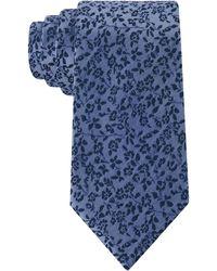 Calvin Klein Wild Flower Slim Tie - Lyst
