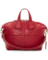 Givenchy Cherry Red Zanzi Lether Small Nightingale Bag - Lyst