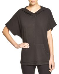 Midnight By Carole Hochman - Jumper Knit Hooded Top - Lyst
