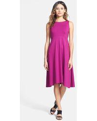 Eileen Fisher Women'S Sleeveless Jersey Dress - Lyst