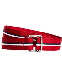 Brooks Brothers - Fourstripe Ribbon Belt - Lyst