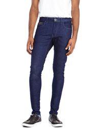 G-star Raw Dark Wash Blades Slim Tapered Jeans - Lyst