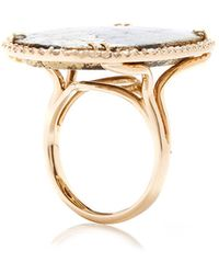 Kimberly Mcdonald One Of A Kind Apache Gold and Diamond Double Shank Ring - Lyst
