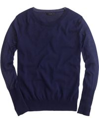 J.Crew Summerweight Cotton Sweater - Lyst