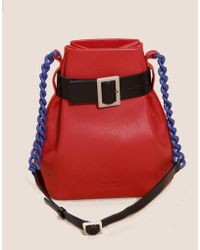 Matter Matters Bucket Shoulder Bag - Red - Lyst