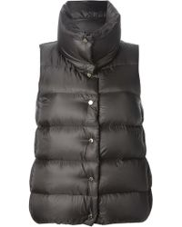 Moncler Sources Padded Gilet - Lyst