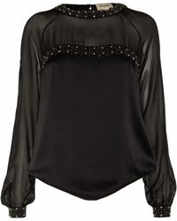 Temperley London Aralia Long Sleeved Top - Lyst