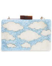 Natasha Couture 'Cloud' Clutch - Lyst