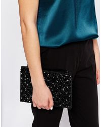 Warehouse - Embellished Clutch - Lyst