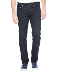 True Religion Hand Picked Straight Zipper Pocket Mens Jean - Lyst