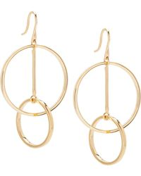 Lele Sadoughi | Twisted Hoop Earrings | Lyst