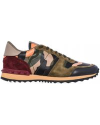 Valentino | Sneakers Rock Runner Camouflage | Lyst